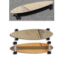 Custom Long Skate Carbon Fiberglass