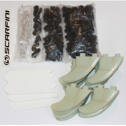 Scarfini Fins - 10 Shaper production set Thruster