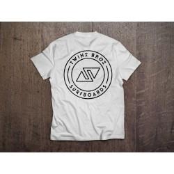 TwinsBros T-Shirt- White