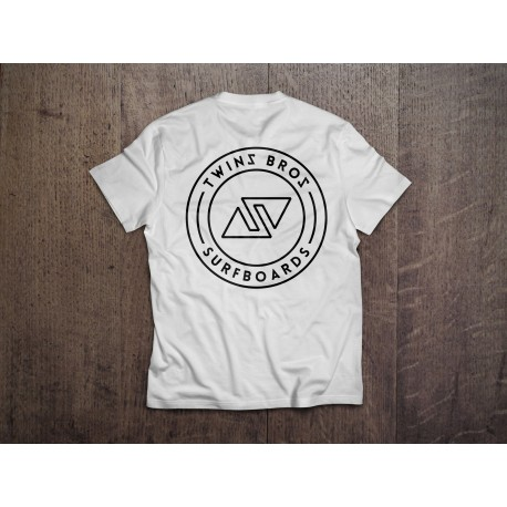 TwinsBros T-Shirt BAMBINO- White