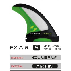 Scarfini Fins FX Air Fins Small - Thrustet Futures