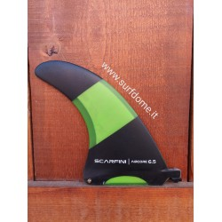 "Scarfini Fins - 6.5"" Air Box Fin - Green"