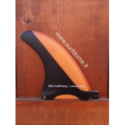 "Scarfini Longboard 6"" Air Fin Orange"