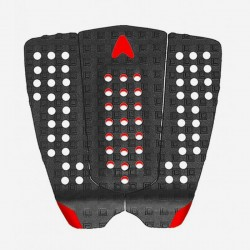 ASTRO Deck Traction- NATHAN FLETCHER - 3 PIECES Arc Pad- Nero/rosso