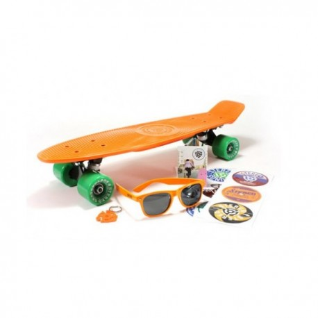 Stereo Cruiser Vinyl Orange Black Green 22.5''