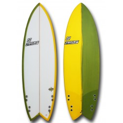 Twinsbros Surfboards Rafty 5'8'' x 20 1/4'' x 2 3/4'' -37.7L