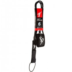 Famous Leash DELUXE 9' EVERYDAY BLACK