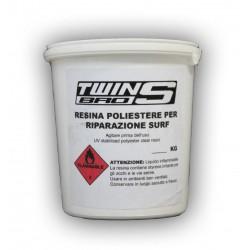 Resina poliestere per riparazioni 0,5 Kg