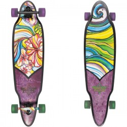 Dusters California Flora Purple Green 37.5''