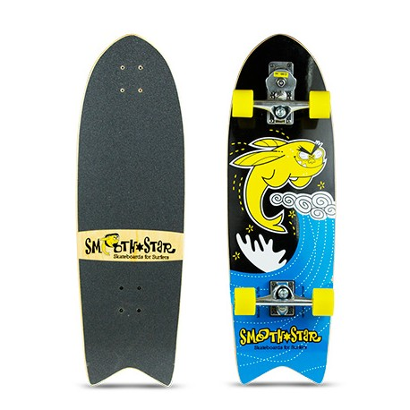 32″ SmoothStar Flying Fish (Yellow & Black)