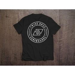 TwinsBros T-Shirt BAMBINO- Black