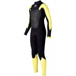 BILLABONG - ABSOLUTE COMP 4/3 - Yellow black - 12 anni