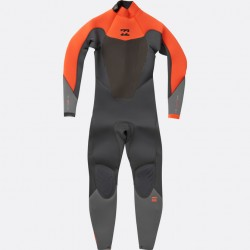 BILLABONG - ABSOLUTE COMP 3/2 - backzip Orange black