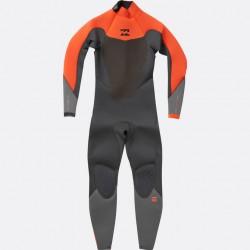 BILLABONG - ABSOLUTE COMP 3/2 - backzip Orange black