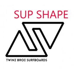 Utilizzo di uno Shape SUP Twinsbros surfboards