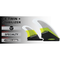 FX TWIN + stabilizer - Twin - ALL weight-Futures