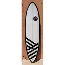 Black Swan 7'0'' x21 3/4 x 2 3/4 - 47,8 Litri- Twinsbros Surfboards