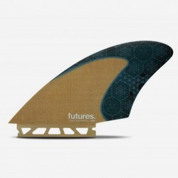 FUTURES Fins VF Rasta Keels HC Jute / Teal - Twin set