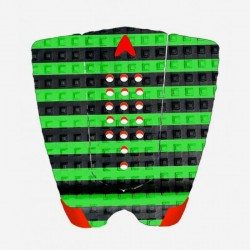 ASTRO Deck Traction- DANNY FULLER - 3 PIECES Arc Pad- Nero/verde