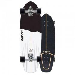 """Carver Skateboard - 32.5"""" Black Tip"""