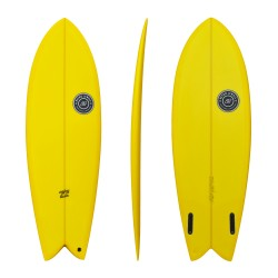 "Twinsbros Surfboards - Enjoy Twin - 5'10"" x 21 3/4″ x 2 7/16″ Volume: 37,16l"