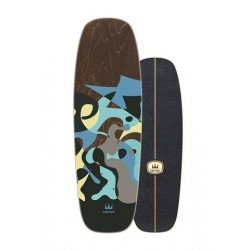 """Carver Deck - 30"""" Blue Ray"""