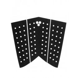 GORILLA SKINNY FISH BLACK -Twin Fin Tail pad - Black
