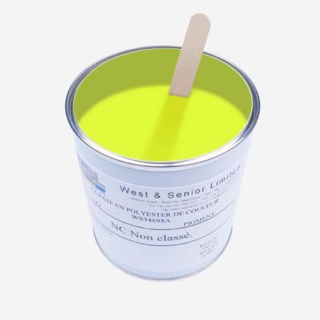 Pigmento per resine Giallo Fluo 50 gr
