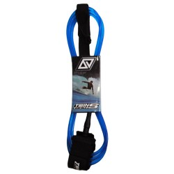 TwinsBros Leash - 10' x 8 mm- blu