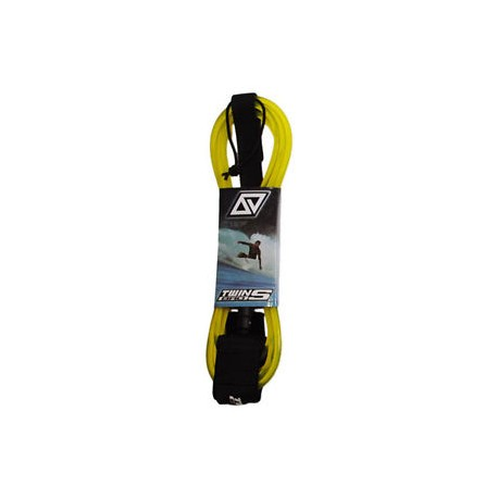 TwinsBros Leash - 10' x 8 mm - giallo