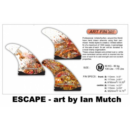 ART SERIES Escape FX - Thruster M (60kg - 80kg)