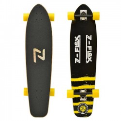 Z-Flex - 38 KICKTAIL LONGBOARD BLACK/YELLOW