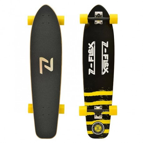Z-Flex - 38 KICKTAIL LONGBOARD BLACK/YELLOW