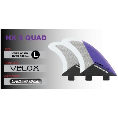 HX 5 QUAD - Quad L (sopra 80kg)