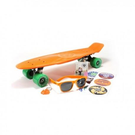 Stereo Cruiser Vinyl Orange Black Green 22.5''